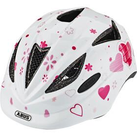 ABUS Anuky Lapset Pyöräilykypärä , vaaleanpunainen/valkoinen